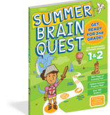Brain Quest Summer Workbook- 1st and 2nd Grade