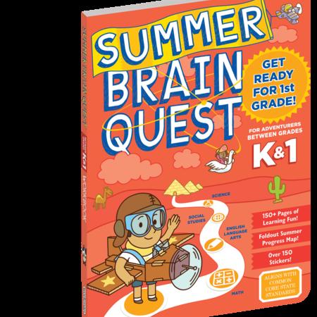 Brain Quest Summer Workbook- Kindergarten and 1st Grade