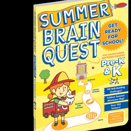 Brain Quest Summer Workbook- Pre-K and Kindergarten