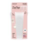 Zip Top Silicone Baby Breastmilk Storage Bag 2pk- Frost