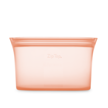 Large Silicone Dish- Peach