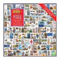 Curiosity Cabinet of Facts 1000pc Puzzle