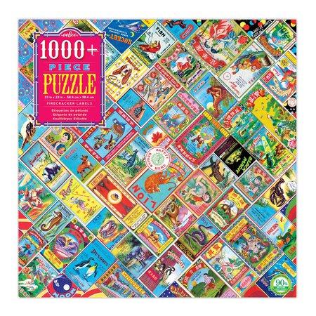 eeBoo Firecracker Labels 1000pc Puzzle