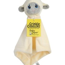 Lamb Crinkle Cuddler