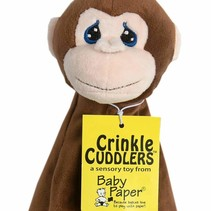 Monkey Crinkle Cuddler