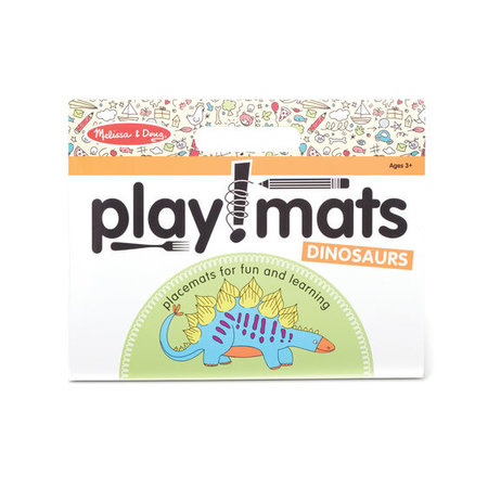 Melissa & Doug Take Along Playmat- Dinosaurs