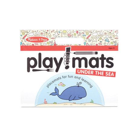 Melissa & Doug Take Along Playmat- Under The Sea