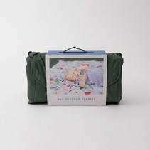 5x5 Outdoor Blanket: Primrose Patch