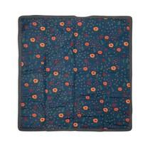 5x5 Outdoor Blanket: Midnight Poppy
