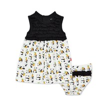 Pudgy Pineapple Modal Magnetic Dress + Diaper Cover