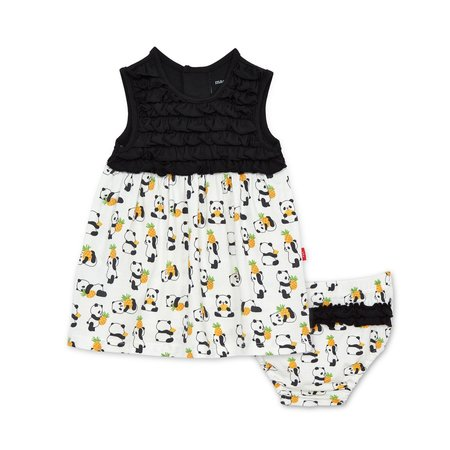 Magnetic Me Pudgy Pineapple Modal Magnetic Dress + Diaper Cover