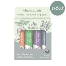 Earth Mama Lip Balm Quadruplets