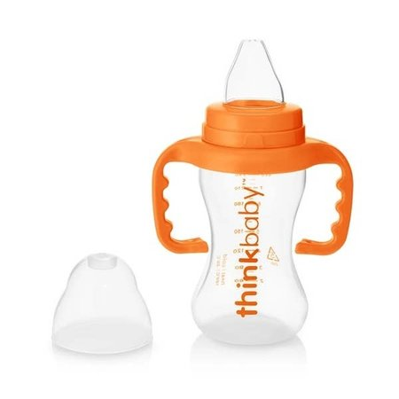 ThinkBaby Thinkbaby 9oz Sippy Cup- Orange