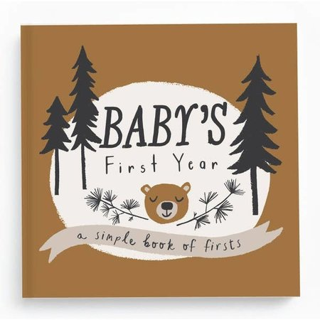 Lucy Darling Baby's First Memory Book Little Camper