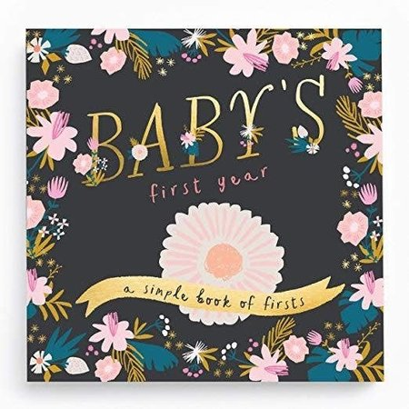Lucy Darling Baby's First Memory Book Golden Blossom