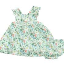 Angel Dear Summer Morning  Muslin Dress + Diaper Cover