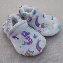 Organic Cotton Slippers Mermaid