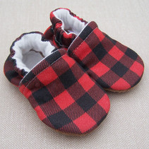 Organic Cotton Slippers Buffalo Plaid