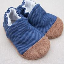 Organic Cotton Slippers Stretch Denim