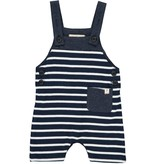 Me & Henry Navy/White Sleeveless Romper