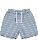 Me & Henry Blue/White Stripe Jersey Shorts