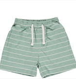 Me & Henry Green/White Stripe Jersey Shorts