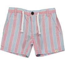 Blue/Red Striped Shorts 4-5 years