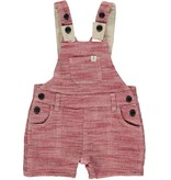 Me & Henry Red Gauze Woven Dungarees
