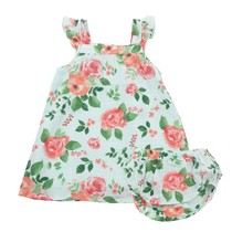 Angel Dear Rose Garden Muslin Dress