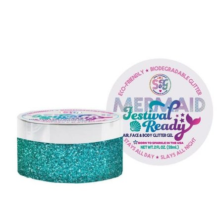Sunshine & Glitter Mermaid Festival Ready Glitter Gel