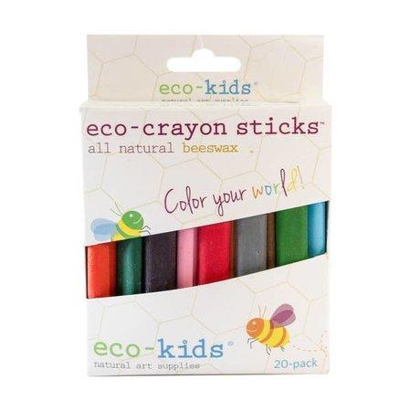 Eco-Kids Eco-Crayon Sticks 20pk