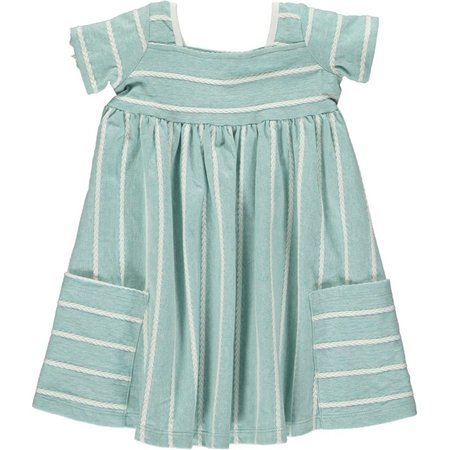 Vignette Rylie Dress- Aqua