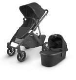 UPPAbaby UPPAbaby VISTA V2 Stroller - JAKE (charcoal/carbon/black leather)