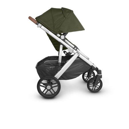 UPPAbaby UPPAbaby VISTA V2 Stroller- HAZEL ( Olive/Silver/Saddle Leather)
