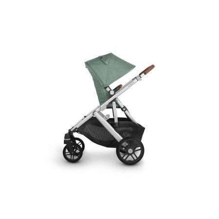 UPPAbaby UPPAbaby VISTA V2 Stroller - EMMETT (green melange/silver/saddle leather)