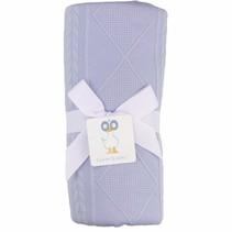 Knit Blanket- Lavender