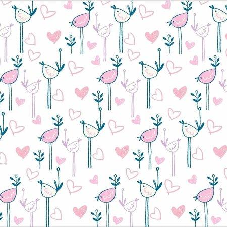 GooseWaddle Receiving Blankets- Kitty/ Birds
