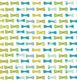 GooseWaddle Receiving Blankets- Fox/Bow Ties