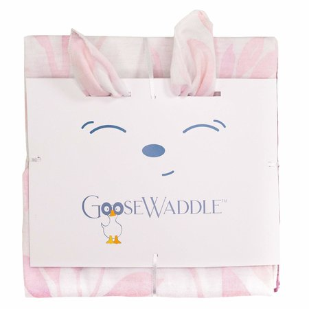 GooseWaddle Receiving Blankets- Poppy Elephant/Leaves