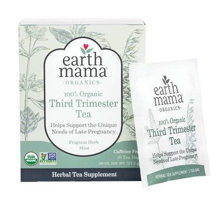 Earth Mama Organics 100% Organic Third Trimester Tea by Earth Mama Organics