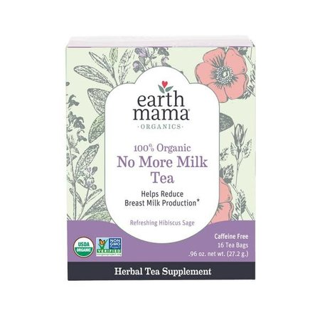 Earth Mama Organics 100% Organic No More Milk Tea by Earth Mama Organics