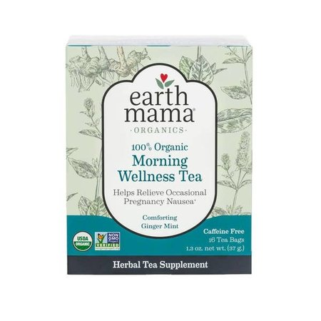 Earth Mama Organics 100% Organic Morning Wellness Tea by Earth Mama Organics