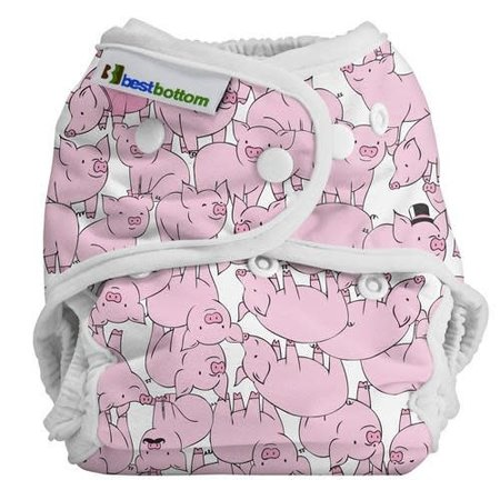 Best Bottom Diapers Best Bottom Diaper Cover (Snap)  This Little Piggy