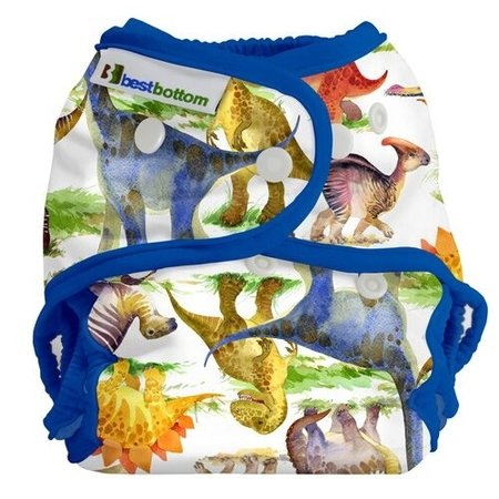 Best Bottom Diapers Best Bottom Diaper Cover (Snap) Dino Mite