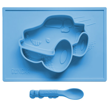 Buncha Yum-Mat Placemat and Spoon: Truck