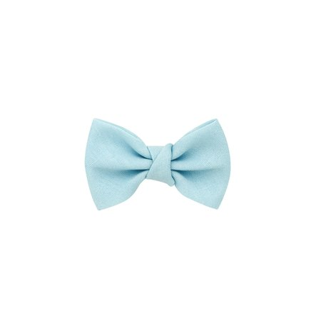 Wee Ones Tiny Cotton Bowtie Hair Clip