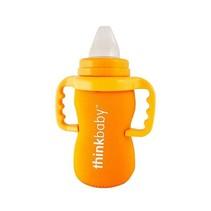 Neoprene Thermal Bottle Sleeve- Orange