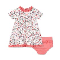 Beatrix Floral Modal Magnetic Dress + Diaper Cover