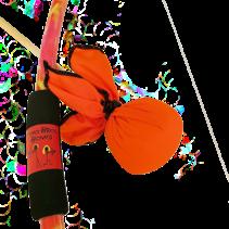 Two Bros Bows: Orange Tie-Dye