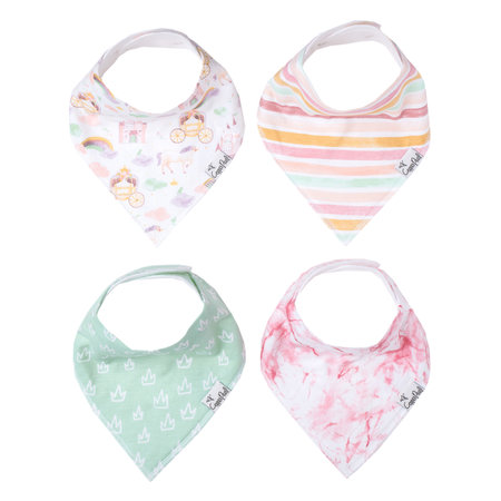 Copper Pearl Baby Bandana Bib Enchanted 4pk